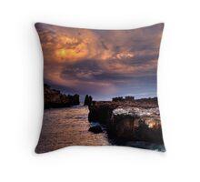 Rainbow Rocks sundown. Throw Pillow
