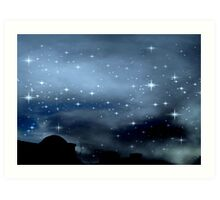 Clear Starry Night © Art Print