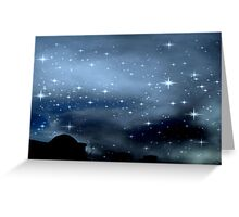 Clear Starry Night © Greeting Card