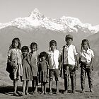 Kids mountain, Nepal by yoshiaki nagashima