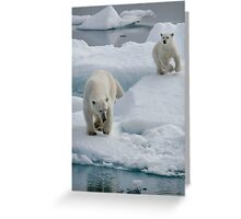 Wait For Me!    Greeting Card