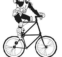 The Scout Trooper Tall Bike Design by grosvenordesign
