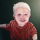 """Tate"" Little People Portraits by Susan Bergstrom"