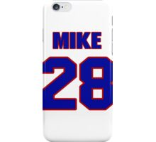 National Hockey player Mike Pelyk jersey 28 iPhone Case/Skin