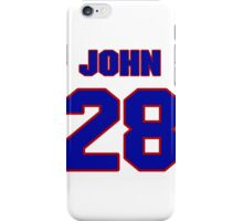 National Hockey player John Scott jersey 28 iPhone Case/Skin