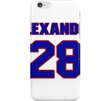 National Hockey player Alexander Semak jersey 28 iPhone Case/Skin