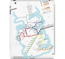 Game of Thrones - Metroros System Map iPad Case/Skin