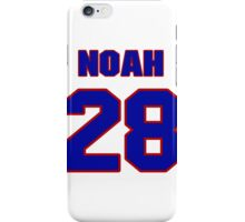 National Hockey player Noah Welch jersey 28 iPhone Case/Skin