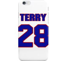 National Hockey player Terry Ball jersey 28 iPhone Case/Skin