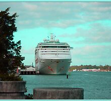 Cruise Ship by jaycee