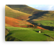 English Hills and Dales Canvas Print