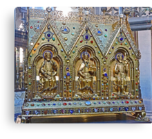 Reliquary Casket Of Charles the Good Canvas Print