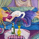 Young Woman Sleeping by Deborah Conroy