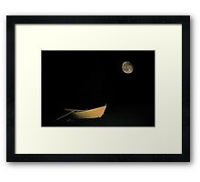 Tucked In For The Night Framed Print