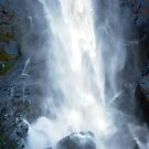 Ellenborough Falls - The Bottom of the Drop by Bev Woodman