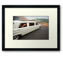White Holden EH Limo rig shot Framed Print