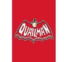 Quailman Photographic Print