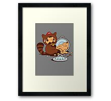 The Tanooki truth Framed Print