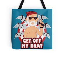 Get off my Boat Tote Bag