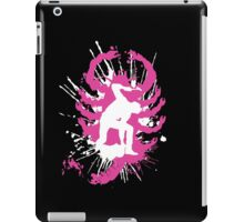 My hands are dirty Pink and White iPad Case/Skin