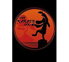 The Karate Dog  Photographic Print