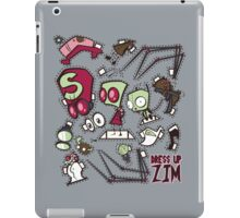 Dress up Zim iPad Case/Skin