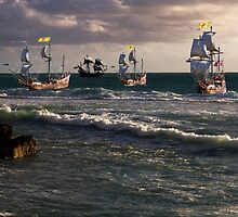 Moluccan Fleet by Nigel Donald