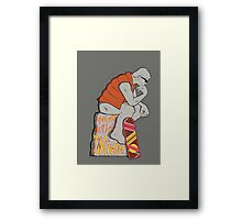 Think Mcfly, Think! Framed Print
