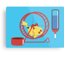Pet Pikachu Metal Print