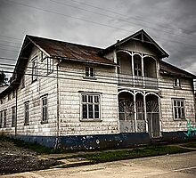 House in Puerto Varas by Dave Hare