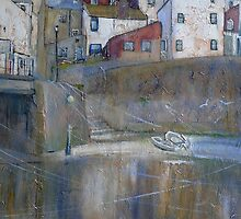 Staithes, Reflections by Sue Nichol