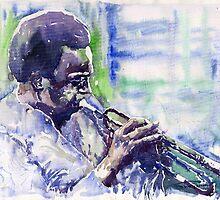 Jazz Miles Davis 13 by Yuriy Shevchuk