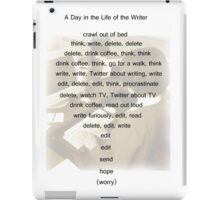 A Day in the Life of the Writer iPad Case/Skin