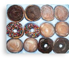 """Delightful Donuts"" Metal Print"