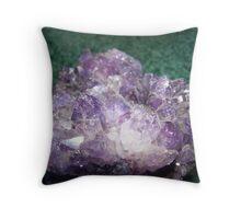 A Pretty Geode Throw Pillow