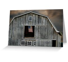 Flying Country Colors Greeting Card