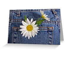 Forever In Blue Jeans Greeting Card