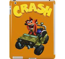 Crash Bandicoot - Jeep  iPad Case/Skin