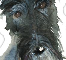 Barney The Scottie Dog Sticker