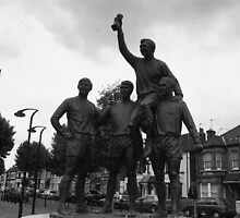 West Ham world cup winners' statue by emmaswann