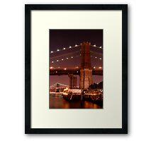 Brooklyn Promonade View Framed Print