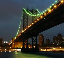 Subtle Night Sky Over New York by ScottL