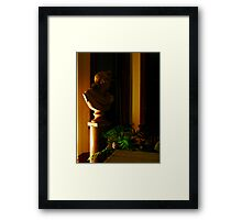 Midnight Muse Of Apollo Framed Print