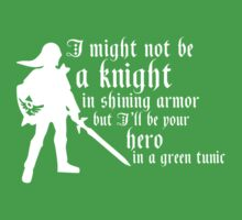 Hero in Green Kids Clothes
