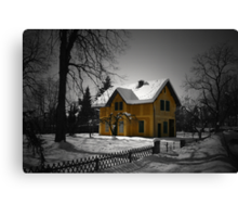 The Gingerbread House Canvas Print