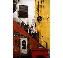 Stair way in Saigon Photographic Print