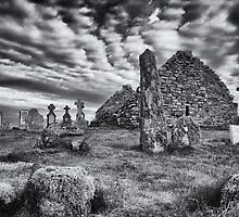 Benbecula: St. Columba's Kirk and Graveyard by Kasia-D