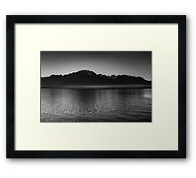 The waters Framed Print