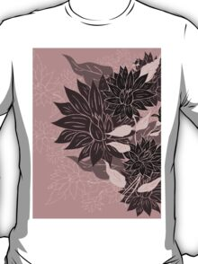 Colorful Flower Ornament 4 T-Shirt