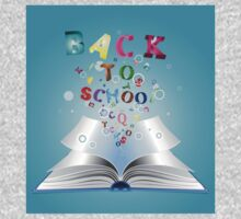 Opened book with letters 3 Kids Clothes